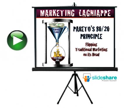 marketing lagniappe - pareto's principle