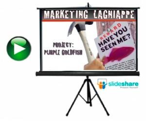 marketing lagnaippe slideshare purple goldfish