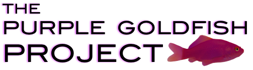 purple goldfish project logo