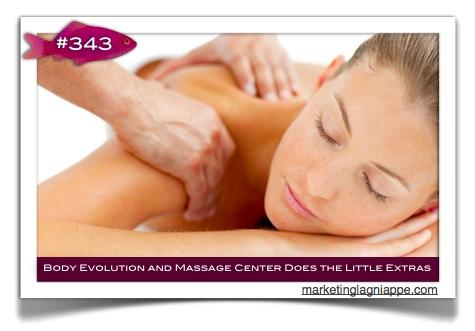 body evolution and massage center