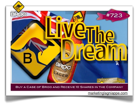 broo beer live the dream