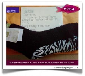 kimpton hotel slippers